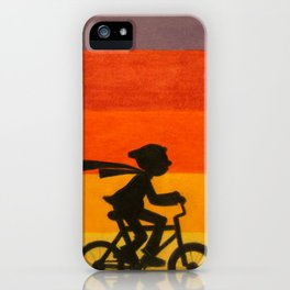 """Get Home Before Dark"" iPhone Case"