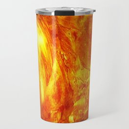 Surface Of The Sun - Leo - Science - Hipster - Hot Travel Mug