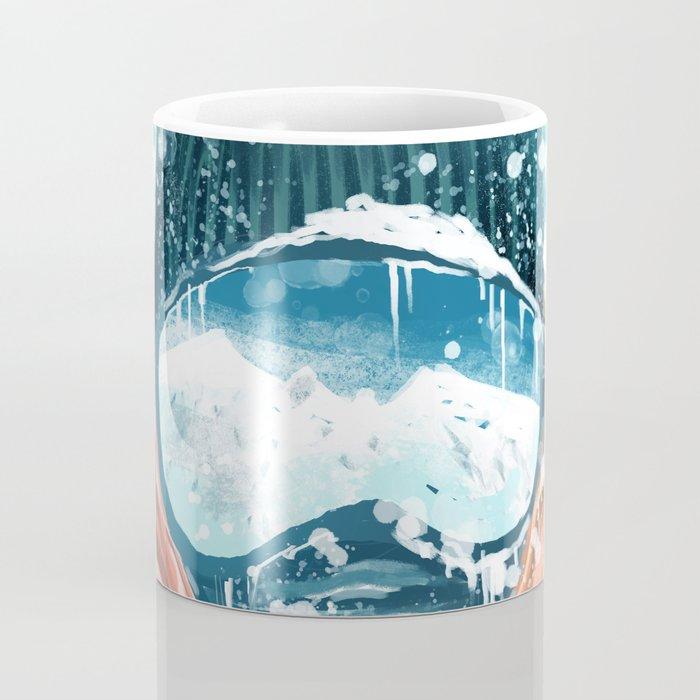 climber in the everest Coffee Mug