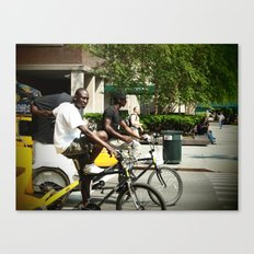 Pedicab Driver Canvas Print