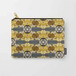 Unibrow Boxer Tessellation Carry-All Pouch
