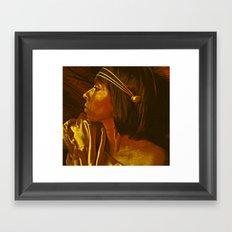Egyptian Princess Framed Art Print