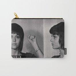 Jane Fonda Mugshot Carry-All Pouch