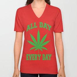 """All DAY; EVERY DAY!"" 2 Unisex V-Neck"