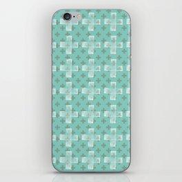 Emerald Twist iPhone Skin