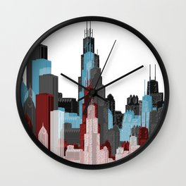 Chicago Gothic Wall Clock