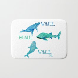 Whale, whale, whale. What have we here? Bath Mat