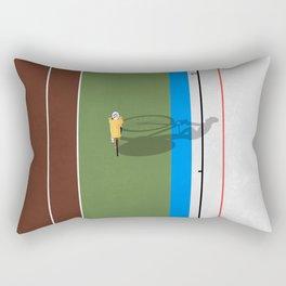 Cycling Sprinter  Rectangular Pillow