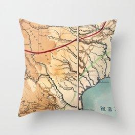 Bigger in Texas Throw Pillow
