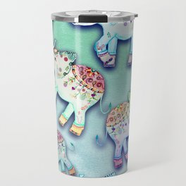 ELEPHANT PARTY MINT Travel Mug