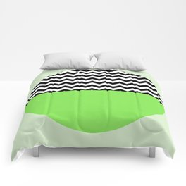 Moiety Green Comforters