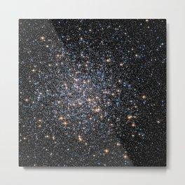 Glittery Starburst Metal Print