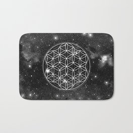 Flower Of Life 004 Bath Mat