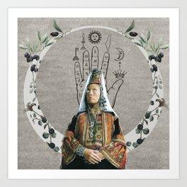 Bride of Bethlehem Art Print