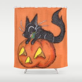 Trick and Treat Shower Curtain