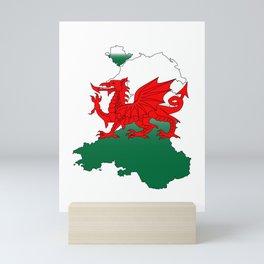 Wales and the Dragon Mini Art Print