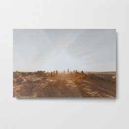 Walk to Horseshoe Metal Print