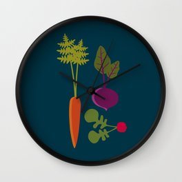 Vegetable Medley Wall Clock