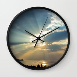 Morning sunshine Wall Clock