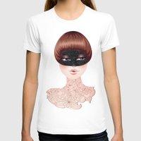 leah flores T-shirts featuring Flores by Pete K.