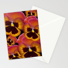 Pansy Painted Stationery Cards