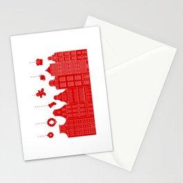 Very Merry Christmas Street Stationery Cards