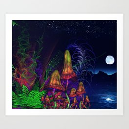 Happy Birthday Terence Mckenna Art Print