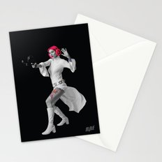 Princess Leia Strikes Back Stationery Cards