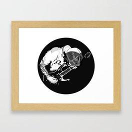 ·the guitarist Framed Art Print