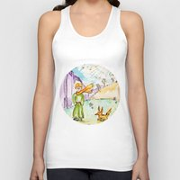 le petit prince Tank Tops featuring Le petit prince by Colorful Simone