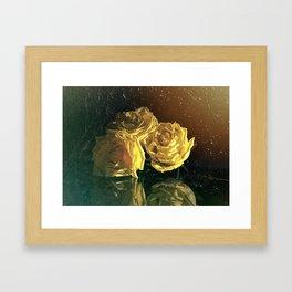 """""""La Rosa Amarilla"""" Framed Art Print"""