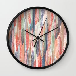 Feathered Nest Wall Clock
