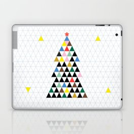 Geometric Christmas Tree Laptop & iPad Skin