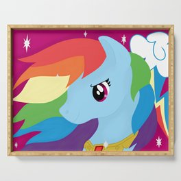 Rainbow Dash Serving Tray