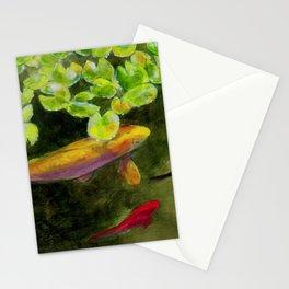 Small Koi Pond 14 Stationery Cards