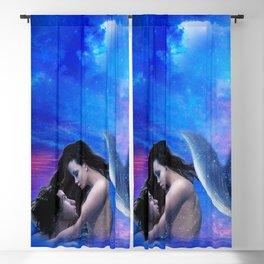 Mermaid Lovers Blackout Curtain