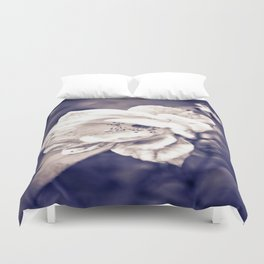 Depot Flower in Purple Duvet Cover