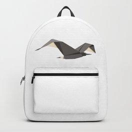 Origami Seagull Backpack