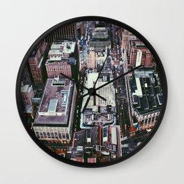 NYC, Sky View #1 Wall Clock