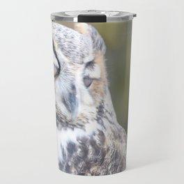 Great Horned Owl 2 Travel Mug
