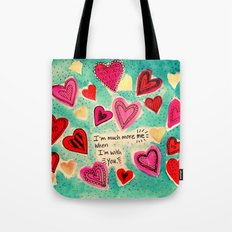 Me and You - Valentine Tote Bag