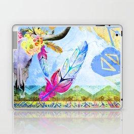 Bohemian Longhorn Laptop & iPad Skin