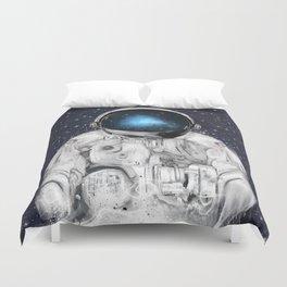 space adventurer Duvet Cover