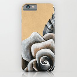 A Rose For My Love iPhone Case