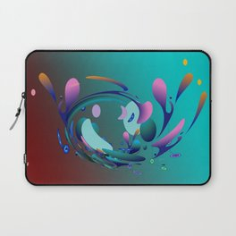 Power and positive energy, 10 Laptop Sleeve