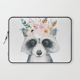 Forest Raccoon by Nature Magick Laptop Sleeve