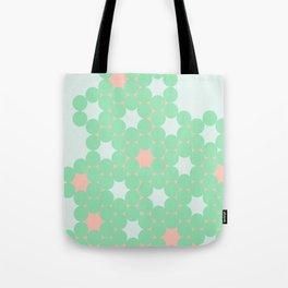 Teal Dot Tote Bag