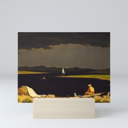 Approaching Thunder Storm by Martin Johnson Heade, 1859 Mini Art Print