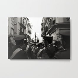 Holy Week Procession, Seville, Spain Metal Print