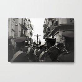 Holy Week Procession, Seville, Spain Metal Print